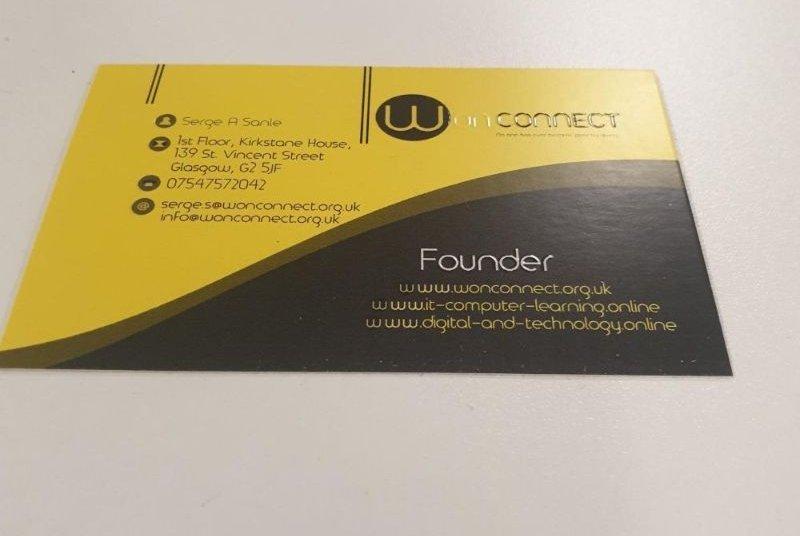 Business card designer near me