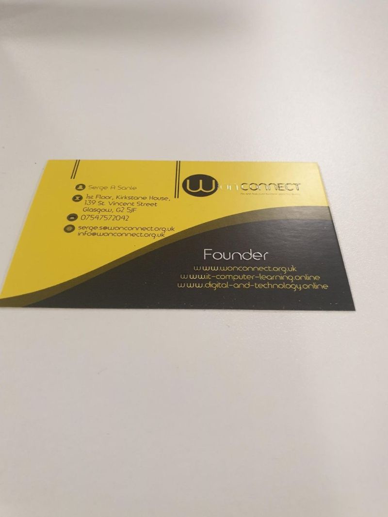 Business card designer near me