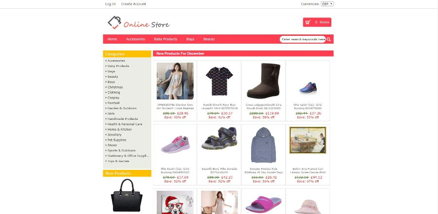 eCommerce WordPress website design Glasgow UK